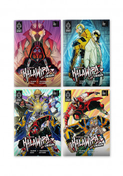 KALAWIRA Origin Series Issues #01 - #04