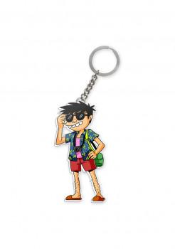 Keychain Si Juki Holiday #2