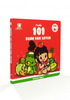 Buku Manka 101 Buah dan Sayur