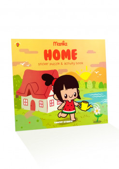 Manka Home Sticker Puzzle & Activity Book